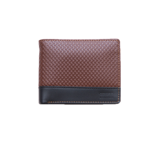 Texture wallet for men