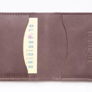 Bi fold Leather Wallet