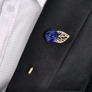 Label pin for men