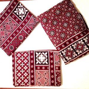 Ajrak Sindhi shawl